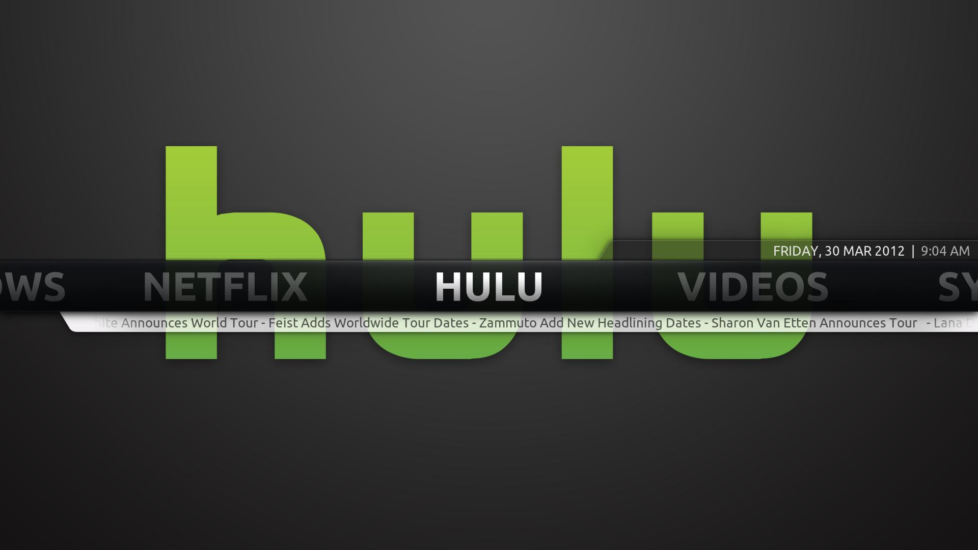 HTPC Geek Project: Launching Netflix WMC and Hulu Desktop